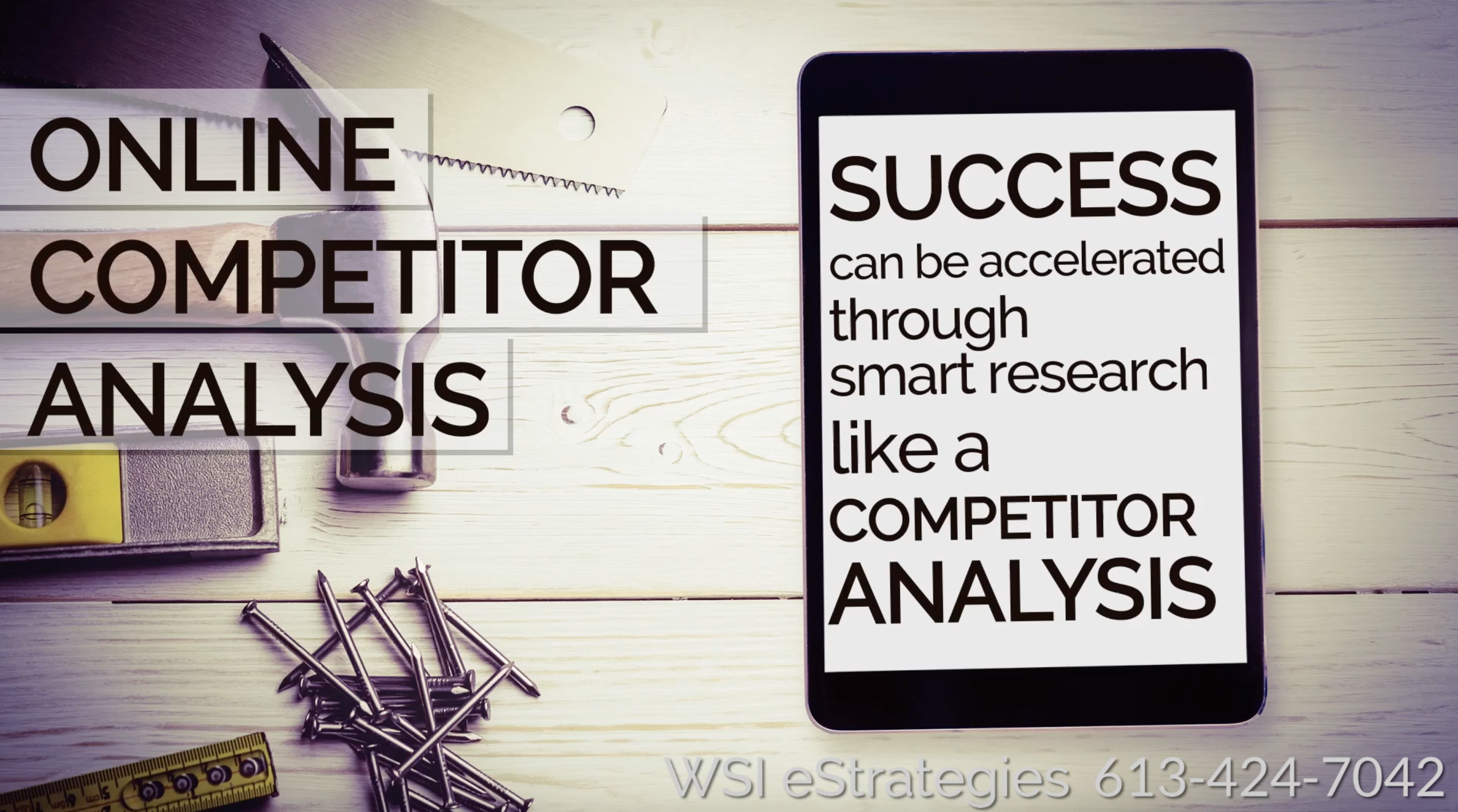 Competitor Analysis to Gain a Competitive Advantage
