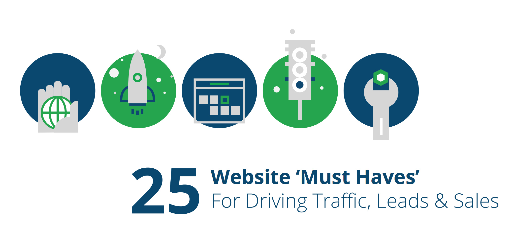 Website 'Must Haves' For Driving Traffic, Leads & Conversions