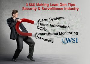 online lead generation tips for security alarm & Surveillance