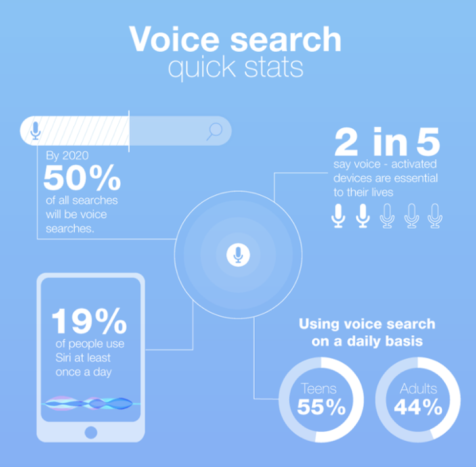 Voice Search quick Stats 2019