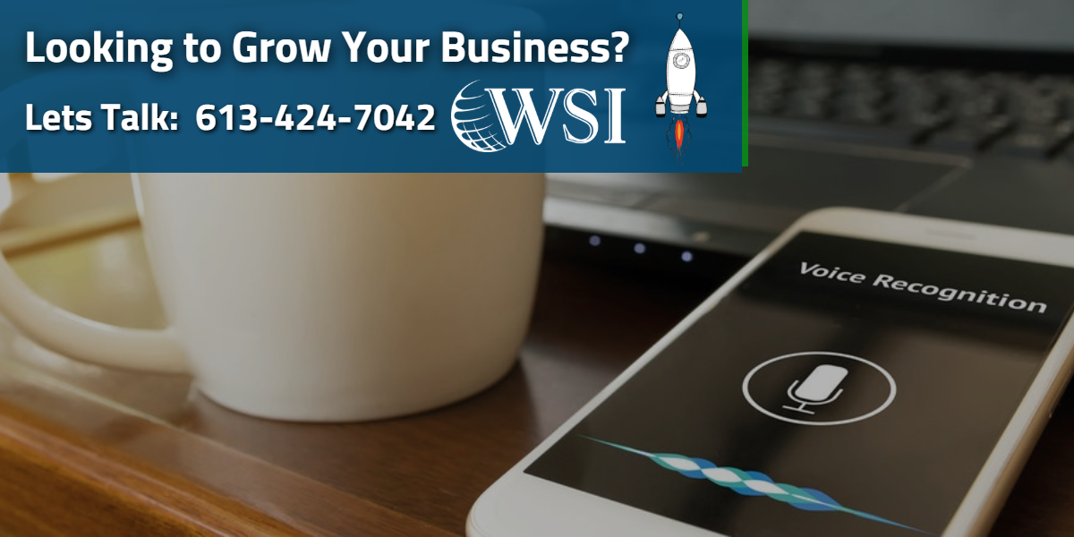 Looking to Grow Your Business with Voice Search?   WSIeStrategies