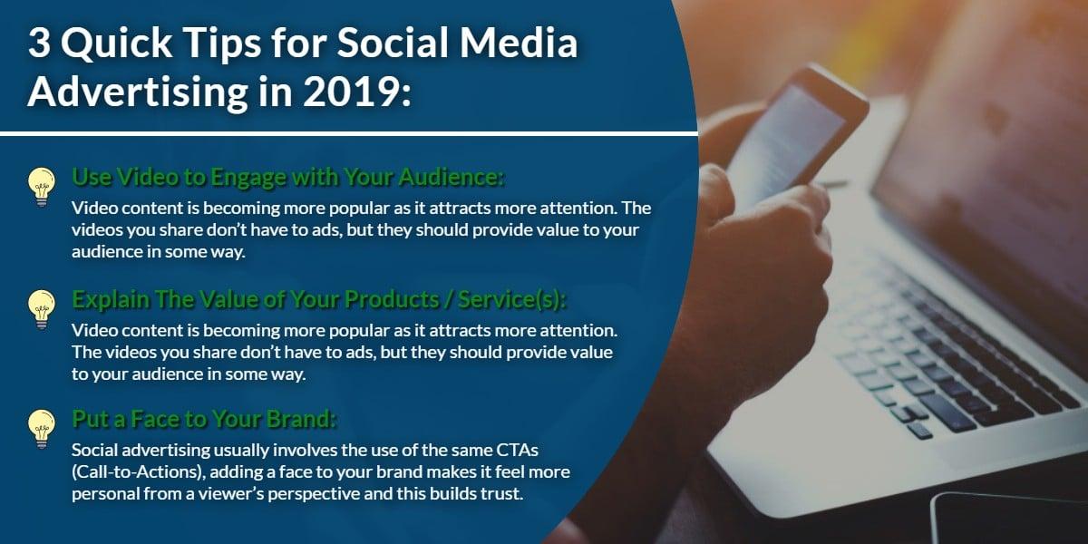 3 Quick tips for Social Media Advertising in 2019 | WSIeStrategies