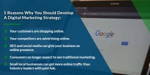 5 reasons why you should develop a digital marketing strategy | WSIeStrategies