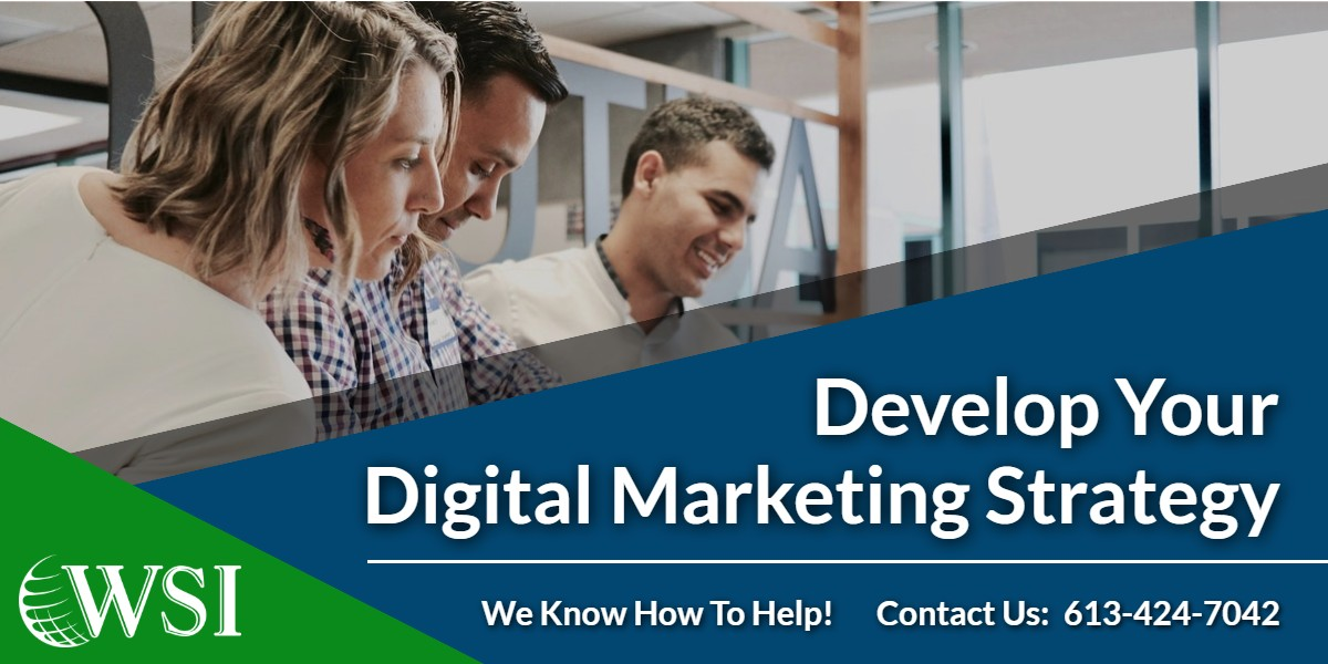 Develop your digital marketing strategy | WSIeStrategies]