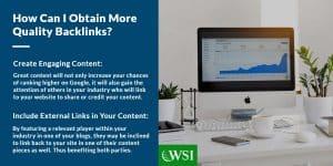 How can I obtain more quality backlinks?   WSI Ottawa