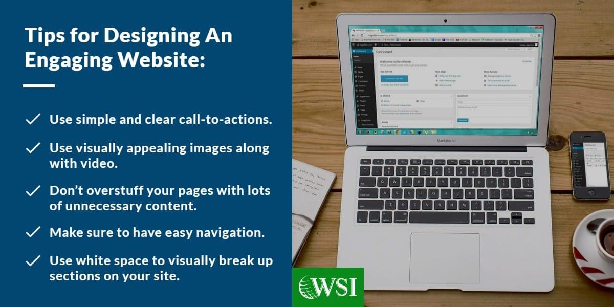 Tips for designing an engaging website | WSI Ottawa