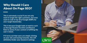 Why should I care about on page SEO? | WSI Ottawa