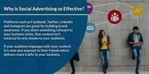 Why is Social Advertising so Effective? | WSIeStrategies