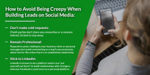 How to avoid being creepy when building leads on social media | WSI Ottawa