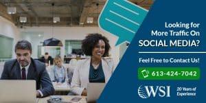ooking for more traffic on Social Media? | WSI Ottawa