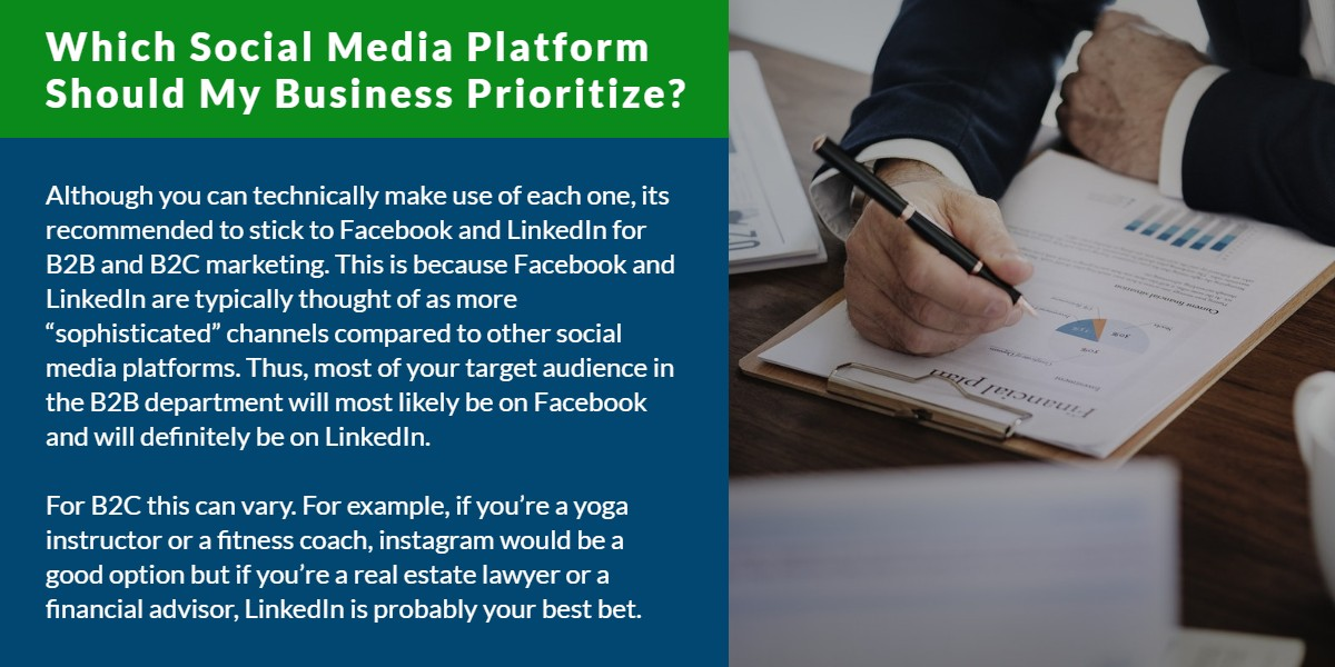 Which social media platform should my business prioritize? | WSI Ottawa