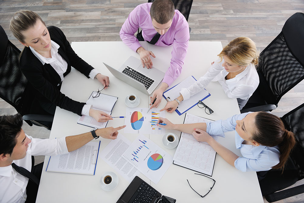 team of analytics experts
