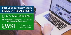 Does your business website need a redesign?   WSI Ottawa