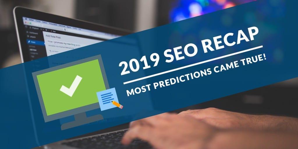 2019 SEO Recap | SEO Best Practices in 2019 | WSI Ottawa