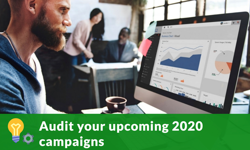 Audit your upcoming content campaigns
