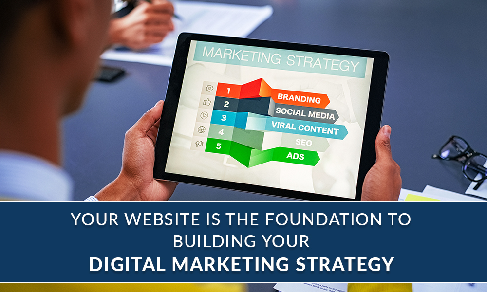 Your Website is the Foundation to Building Your Digital Marketing Strategy